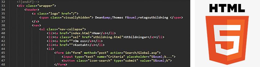 HTML5 grundkurs
